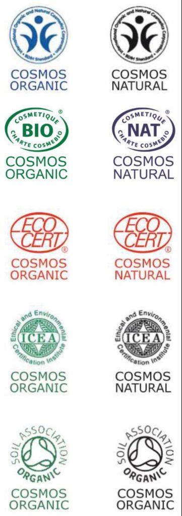 certificados ecológicos en cosmética